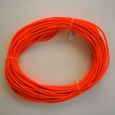 Beta-Biothane 6,4mm NEONORANGE RUND